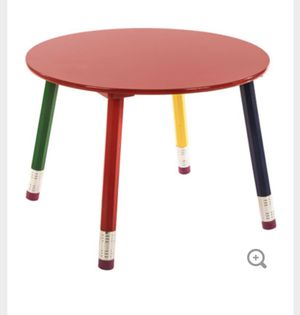 Kids table and chair pencil set for Sale in Fort Lauderdale, FL