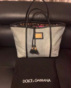 Authentic Dolce Gabbana shoulder tote bag for Sale in Las Vegas, NV
