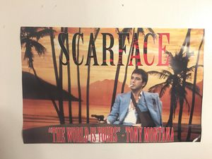 Scarface Poster (custom) for Sale in Newtown, CT