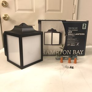Extra Hampton Bay LED Wall Lantern NEW for Sale in Brea, CA