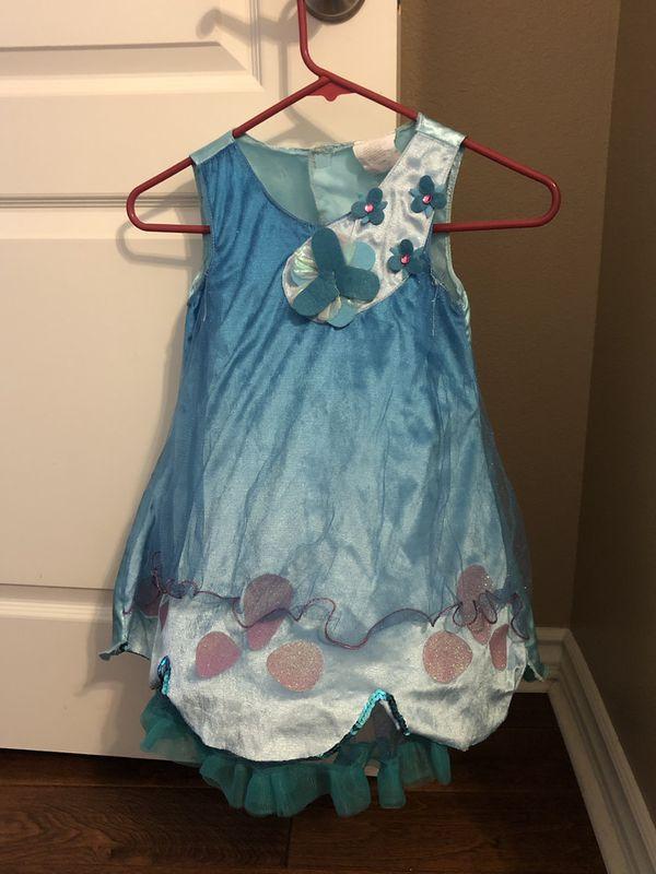Halloween Costume - Trolls - Poppy - size 4-6x