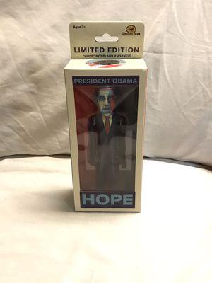 President Barack Obama Limited edition Hope action figure jailbreak toys for Sale in San Francisco, CA