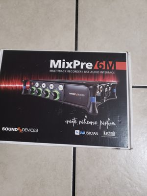 Mixpre 6m for Sale in Los Angeles, CA