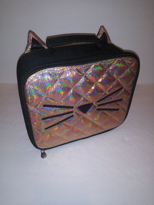 Girls Justice Cat Lunchbag, with Ears for Sale in Victoria, TX