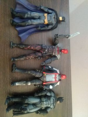 Red Hood, Batman, collectable action figures D.C. for Sale in Murrieta, CA