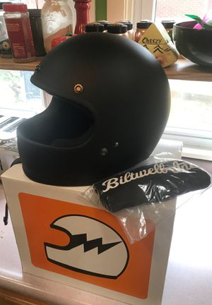 Biltwell gringo motorcycle /scooter helmet matte black XL for Sale in Pittsburgh, PA