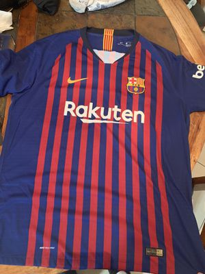 Authentic FC Barcelona Jersey size XL $120 for Sale in Orlando, FL