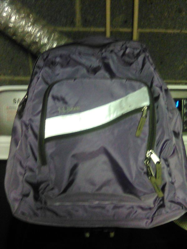 LL Bean purple book bag