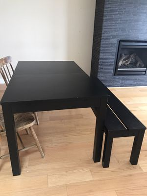 Dining Table with bench for Sale in San Francisco, CA