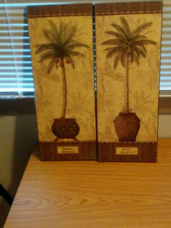 2 Palm Tree Pictures for Sale in Nashville,  TN