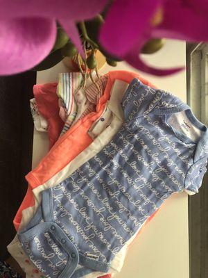3-6month girls onesie bundle for Sale in Elk Grove, CA