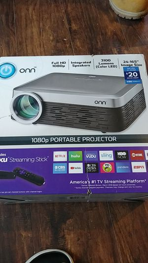 NEW Onn 1080p HD Portable Projecter for Sale in Louisville, KY