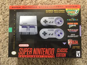 Super Nintendo Classic - modded for Sale in Roseville, MI