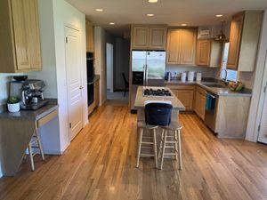 Kitchen Cabinets- Solid oak for Sale in Everett, WA