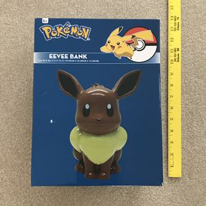 NEW Pokemon eevee money bank holder for Sale in Burtonsville, MD
