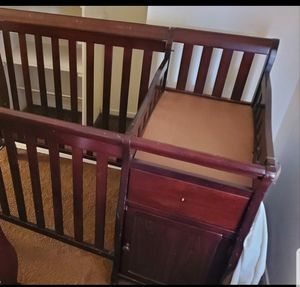 Baby crib with change table for Sale in Anaheim, CA