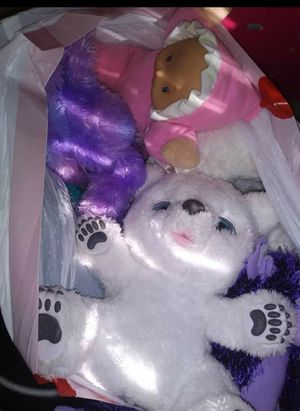 Furreal friend and Bag of Misc. Toys for Sale in Houston, TX