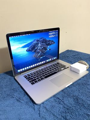 "Late-2012 Macbook Pro 15"" Quad Core Intel i7 CPU 8gb Memory + 500gb SSD & Catalina installed (Works Perfectly) for Sale in Brooklyn Center, MN"