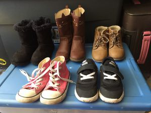 HUGE LOT TODDLER SHOES (4 pictures) for Sale in Mission Viejo, CA