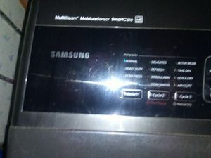 Samsung smart washer and dryer set for Sale in Boelus, NE