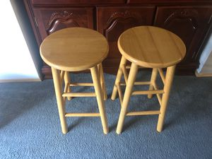 Wooden bar stools for Sale in Federal Way, WA
