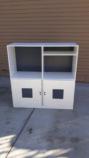 Shabby chic book shelf/cabinet for Sale in Anaheim, CA