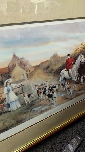 Large horse picture FRAMED for Sale in Leesburg, VA