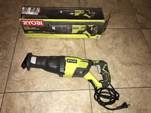 RYOBI 12 Amp Corded Reciprocating Saw for Sale in Phoenix, AZ