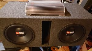 Diamond Audio JBL 10 inch subwoofer car box NICE for Sale in Seattle, WA