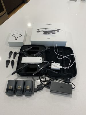DJI Spark Drone - Alpine White for Sale in Seattle, WA