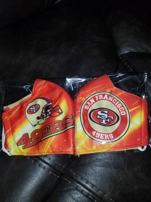 Brand New San Francisco 49er face mask $8 for Sale in Stockton, CA