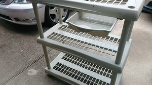 Outdoor/garage sturdy shelving for Sale in Round Rock, TX