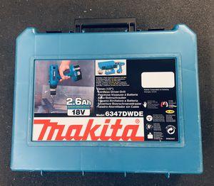 MAKITA 6347DWDE CORDLESS DRILL for Sale in Shoreline, WA
