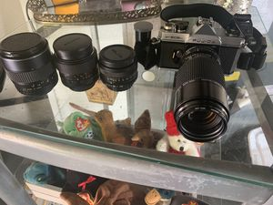 Fujica st605n camera set for Sale in New Port Richey, FL