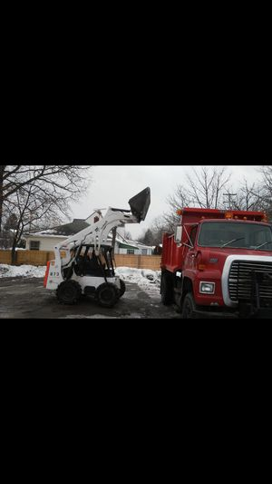 Dump truck and Bobcat for Sale in Maple Heights, OH