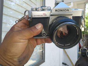 Konica autoReflex T3 for Sale in Modesto, CA