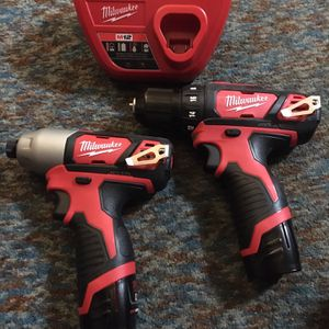 Milwaukee M 12 impact &drill driver for Sale in Lowell, MA