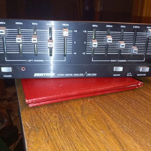 Vintage Sentrek Stereo Equalizer for Sale in St. Peters, MO