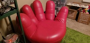 Leather chair, Baseball glove, hand for Sale in Surprise, AZ
