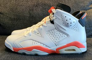 Nike Air Jordan 6 Retro White Infrared Size 10 for Sale in Portland, OR