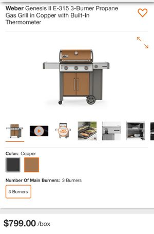 Brand new Weber Genesis grill information and photo for Sale in Kissimmee, FL
