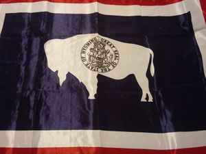 Wyoming Flag for Sale in Oak Grove, KY