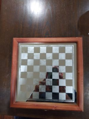 Like new Fifth Avenue crystal chess glass board... for Sale in Houston, TX