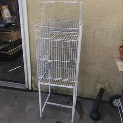 Bird Metal White Cage for Sale in Long Beach,  CA