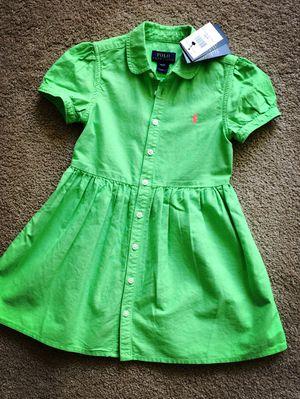 Brand new Ralph Lauren toddler dress 4t for Sale in Alexandria, VA