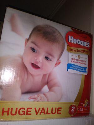 HuGGies size 2 $ 30 por caja oh cambio por formula Enfamil 12 0z for Sale in Los Angeles, CA