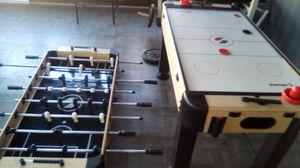 Foosball + Hockey Table for Sale in E RNCHO DMNGZ, CA
