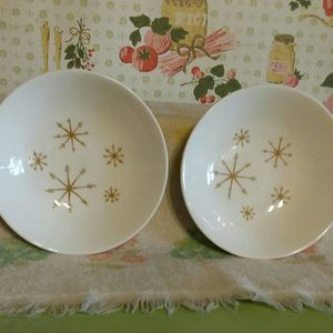 Vintage Royal China Star Glow Atomic Starburst Bowls for Sale in Portsmouth, VA