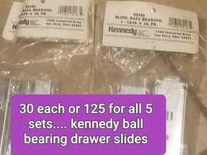 BALL BEARING SLIDES, KENNEDY for Sale in Jackson, MS