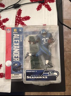 Shaun Alexander Action Figure for Sale in Chino, CA